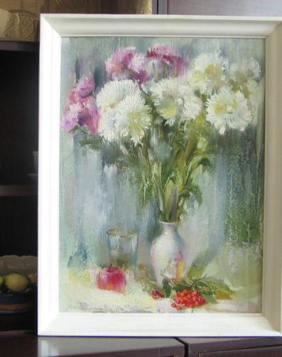 Картина: Хризантемы
