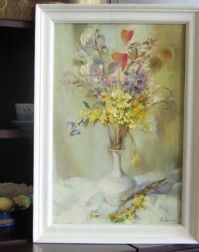 Картина: Ваза с цветами