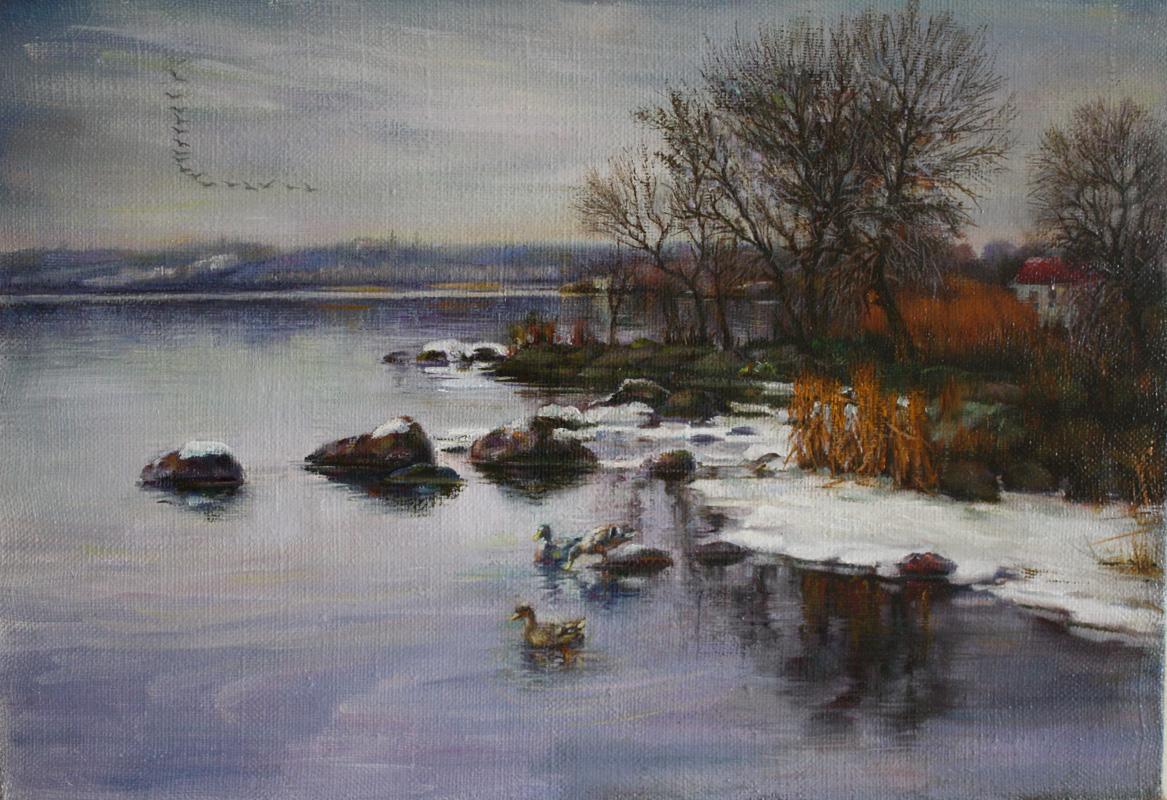 Картина: Зимний пейзаж