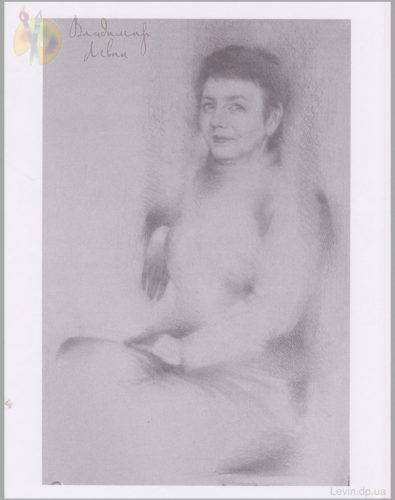 Портрет женщины, рисунок