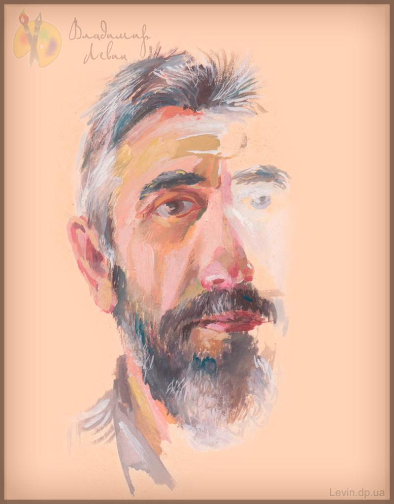 Рисунок, автопортрет