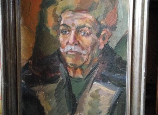 Портрет мужчины, масло, холст